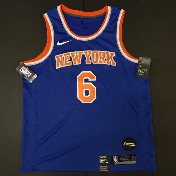 new product 1b172 172ef Nike Swingman Jersey NY Knicks Kristaps Porzingis NWT